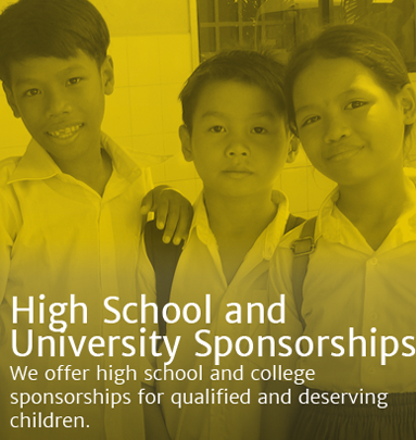 High School & University Sponsorships