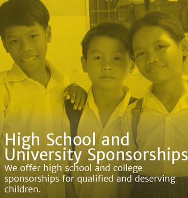High School & University Sponsorships